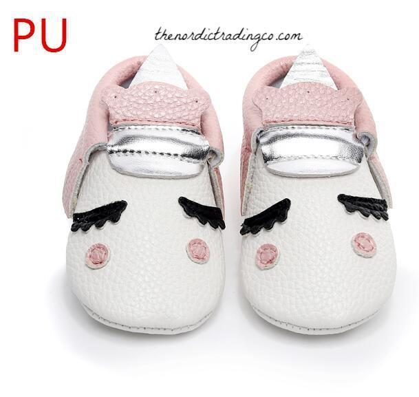 Newborn Infant Toddler Girl Moccasins
