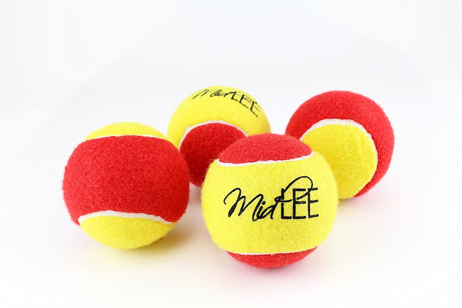 Large 3' Yellow and Red Dog Tennis Ball Pack of 4 by Midlee >>> Be sure to check out this awesome product. (This is an affiliate link and I receive a commission for the sales) #Doggies