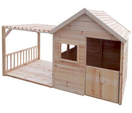 Caseta Infantil De 2 63 M2 Margot Leroy Merlin Casas Ninos Madera Muebles De Jardin Para Ninos Casa De Palets