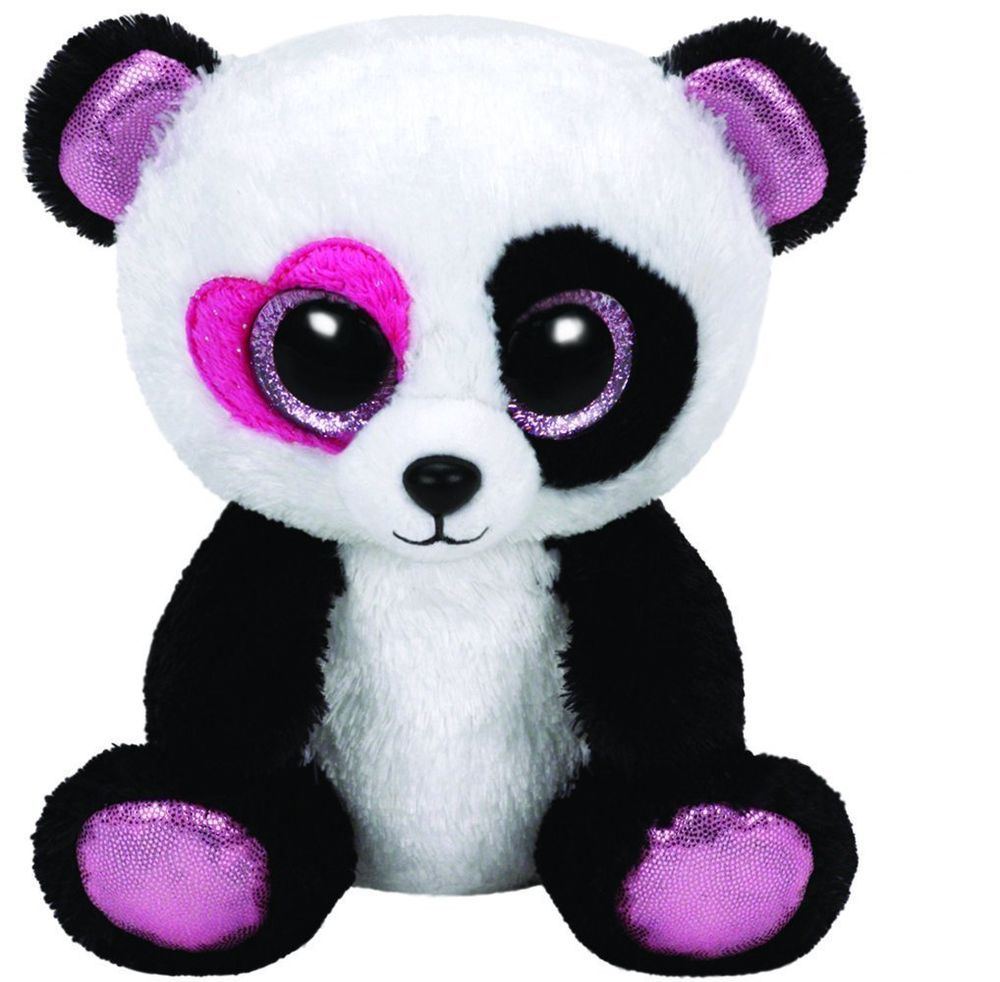 Ty Mandy the Panda Bear Beanie Boos Stuffed Plush Toy  95c83076195c