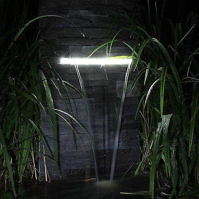 Wasserfall für den Garten Teich Gartenteich zum selber bauen