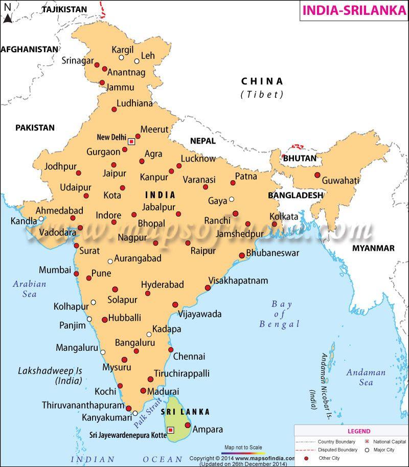 Maps of Indian States Arunachal Pradesh Photographic Print Poster 24x34 India