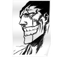 Bleach: Kenapachi Poster