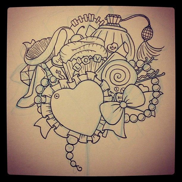 Pics for girly drawings tumblr for Things tattoo artists love