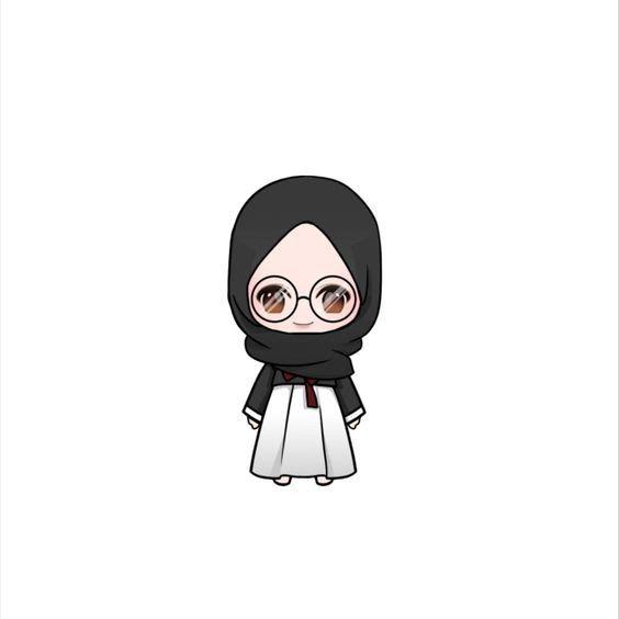26 Gambar Kartun Wanita Bercadar Pakai Kacamata 150 Gambar Kartun Muslimah Berkacamata Cantik Sedih Download Gambar Kartun Muslima Kartun Seni Islami Lucu