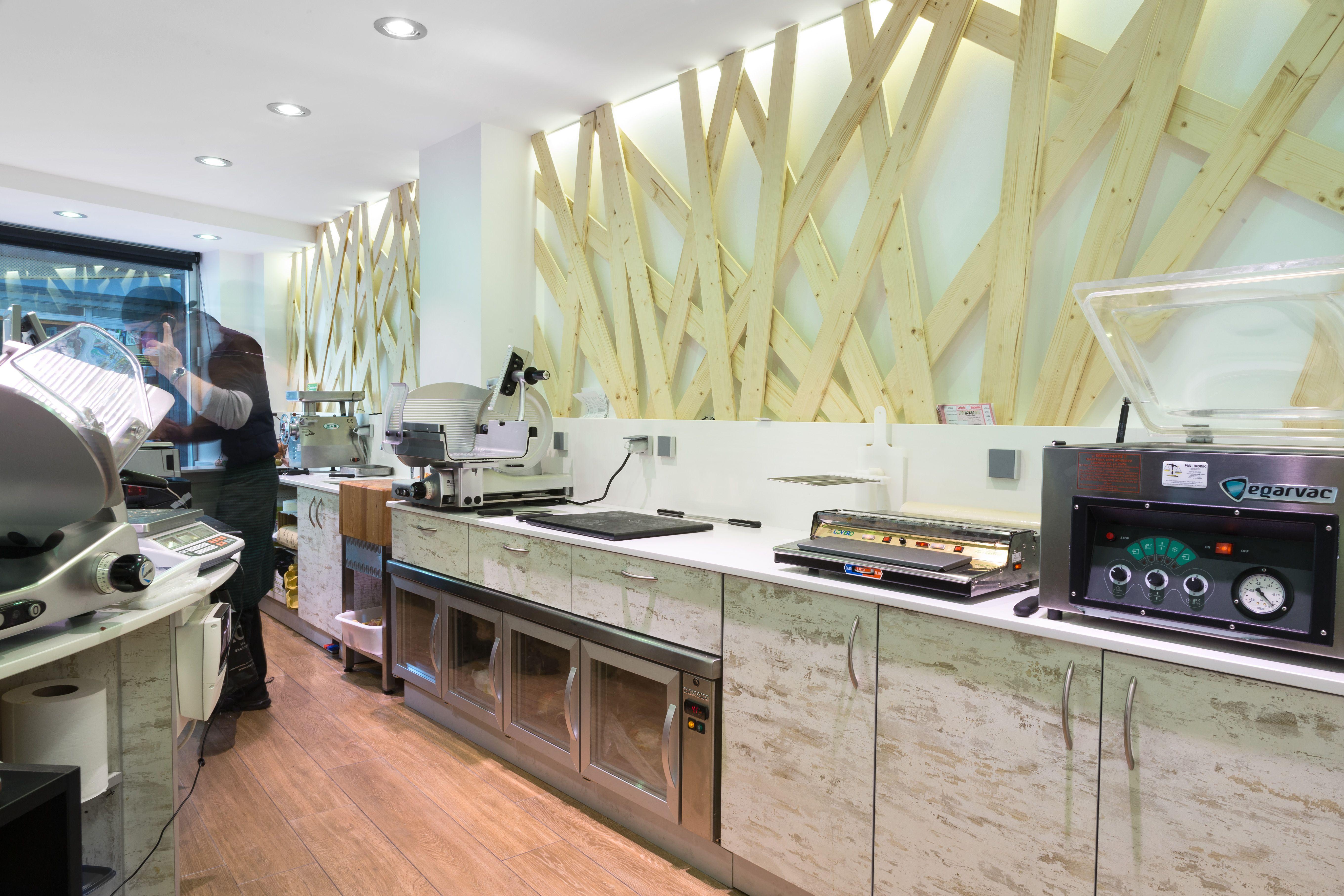Carnicer a moderna dise o de carnicer as modern butchery boucherie design mostrador - Mostradores para carniceria ...