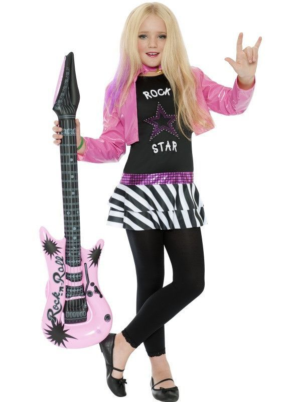 Halloween Rockstar.Girl S Rockstar Glam Costume In 2019 Halloween Rock Star Outfit