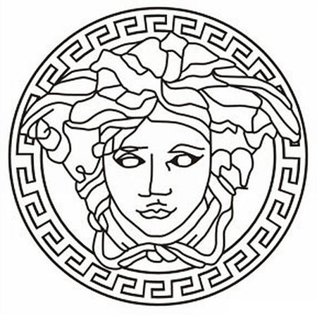 Know The History Of Fashion Designer Logos Versace Tattoo Versace Logo Logo Design