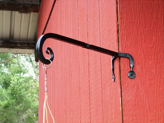 Plant Hanger Heavy Duty Hand Forged With Images Plant Hanger