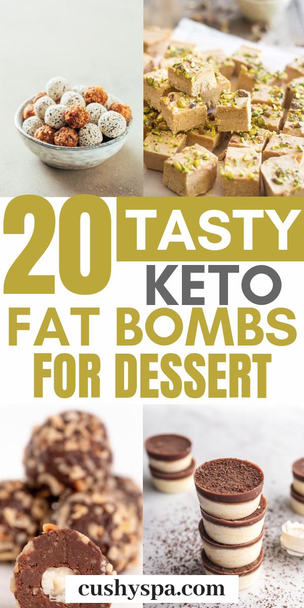 20 Delicious Sweet Keto Fat Bomb Recipes
