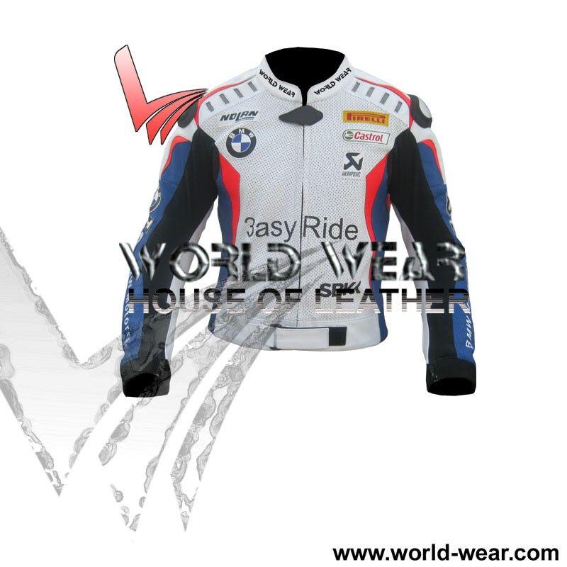 Marco Melandri BMW-MotoGp-Motorbike-Leather-Jacket Pesan Jaket Motor  dengan model seperti ini di http://www.passbandung.com