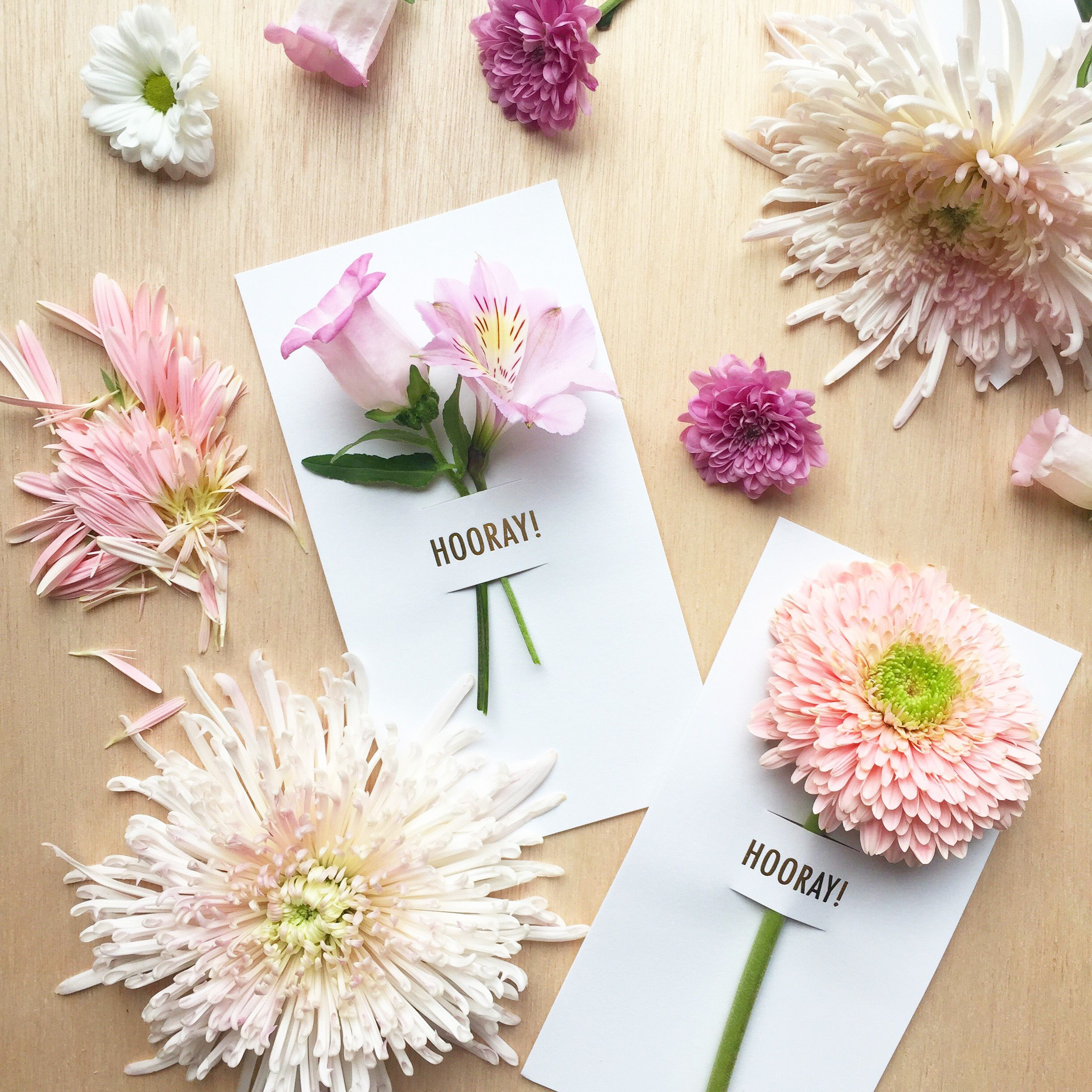 hooray flower notes