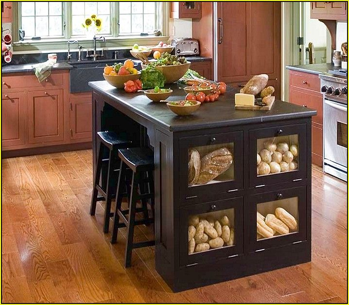 Kitchen Island With Storage And Seating | Kitchen Islands ...