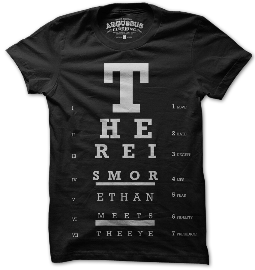 62321d72 THERE IS MORE THAN MEETS THE EYE - BLK Optometry, Dress To Impress, Shirt