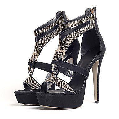Femmes Sandales Sandales pour femme Printemps été Automne Club Chaussures  Gladiator Polaire Paillettes fête de mariage 39e7bdb59529