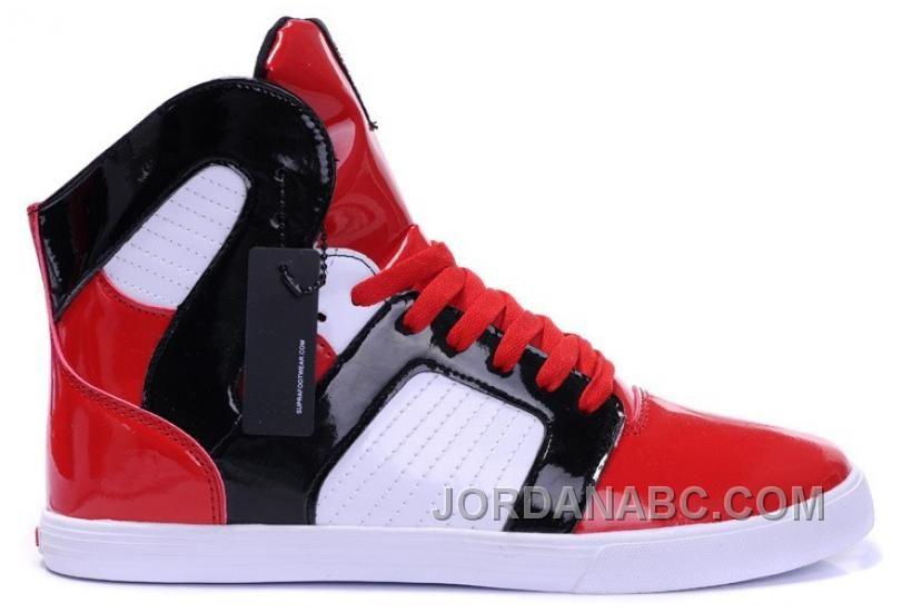 c918f80f83 Supra Pilot NS High Mens Red White Black For Sale, Price: $82.00 - Air  Jordan Shoes, New Jordans