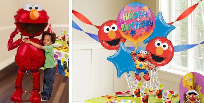 Elmo Balloons Party City Party City Balloons Elmo Birthday Party Sesame Street Birthday Party