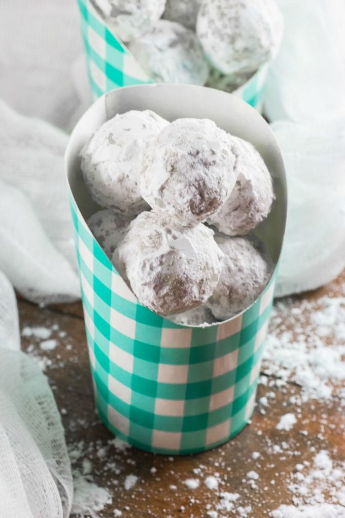 These melt in your mouth Snowball Cookies have been a family favorite for decades Make some up and see why