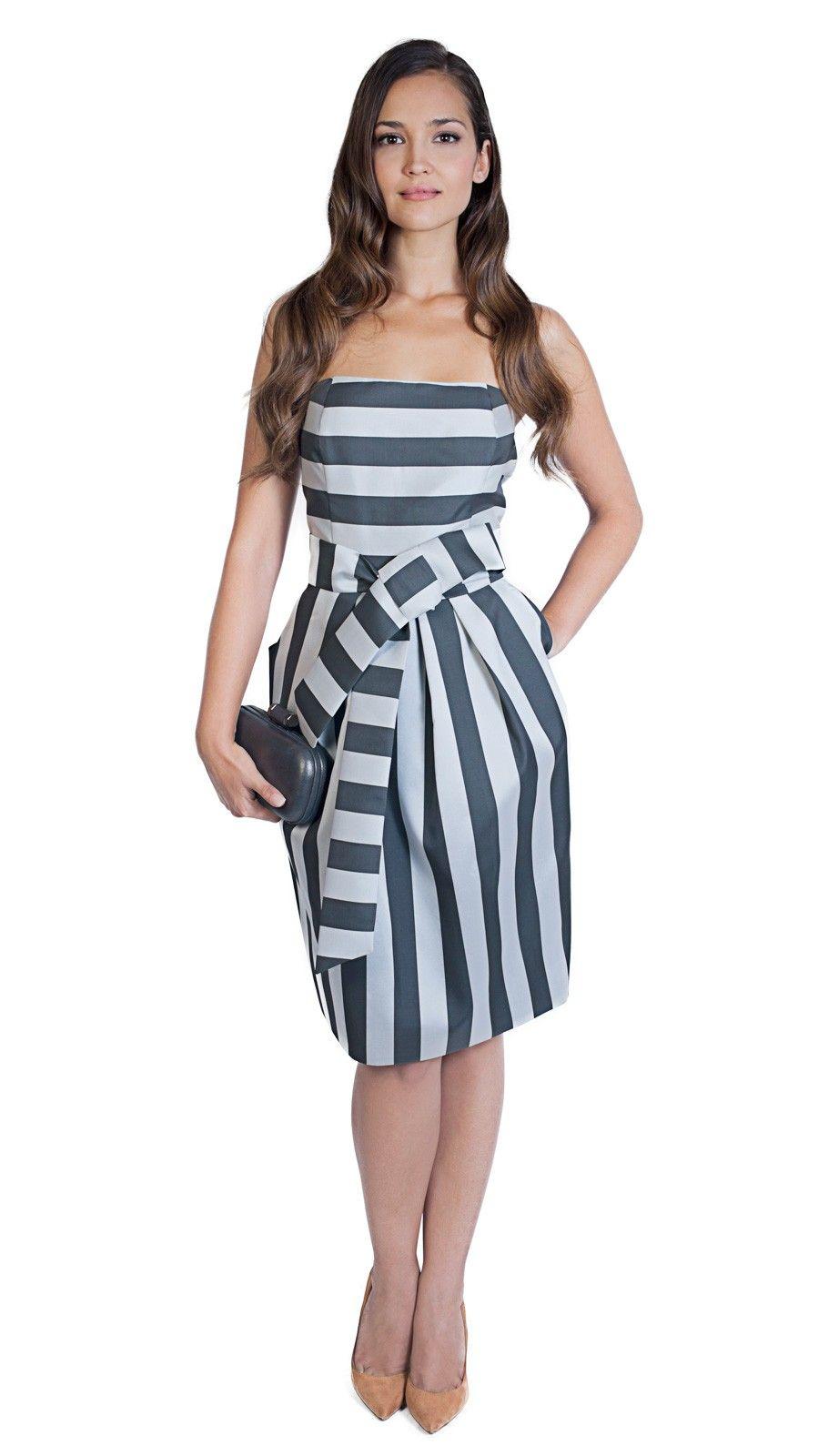 Modelos de vestidos para fiestas tipo coctel