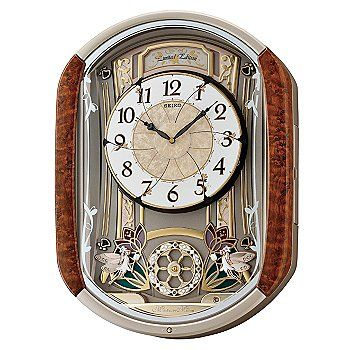 Seiko Melodies In Motion Limited Edition Lovely Garden Wall Clock