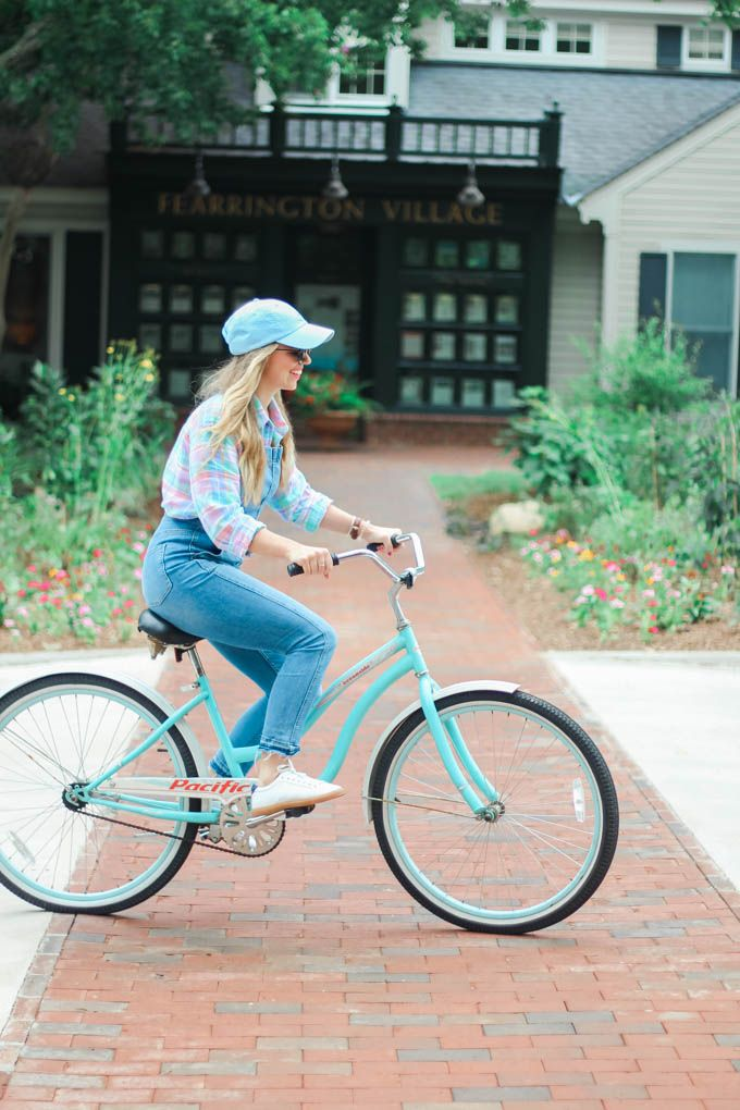 What To Wear For A Day Bike Riding Fearrington Village Louella Reese How To Wear What To Wear Summer Season Outfit