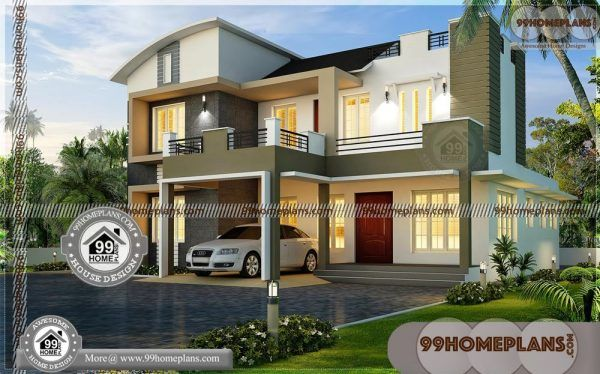 Create House Plans Online Contemporary Two Story Design