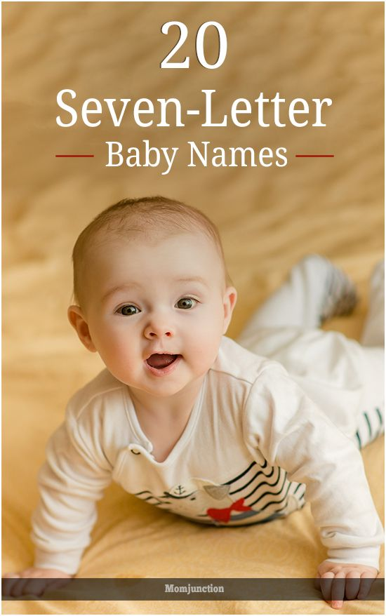 20 Wonderful Seven-Letter Names For Your Baby