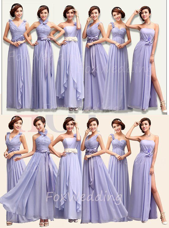 8cc168a329e94 Lavender bridesmaid dress in multiple styles - see more on  http://themerrybride.