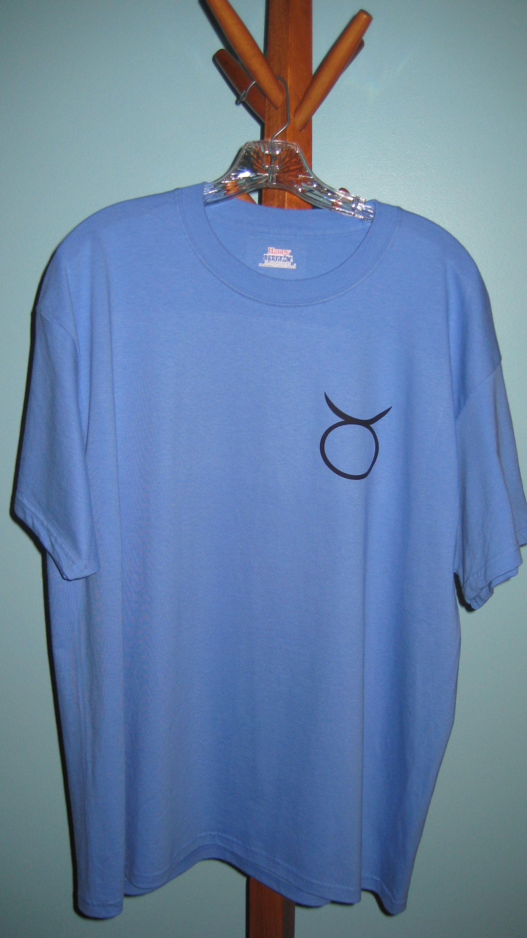 Taurus Crossword T-shirt (Front)