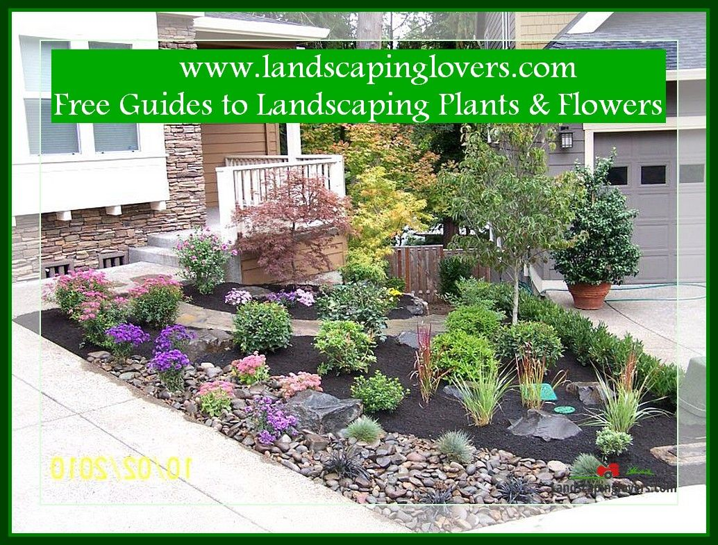 Simple Way To Make The Most Of Your Landscape Landscaping Lovers Small Front Yard Landscaping Small Yard Landscaping Front Yard Landscaping Design Low maintenance backyard landscaping small garden no grass