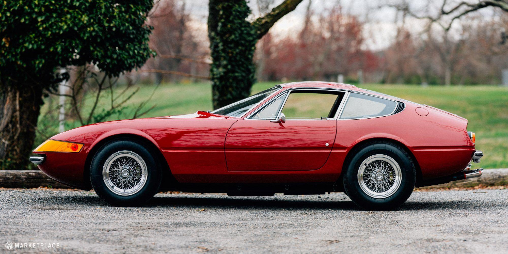 1970 Ferrari 365 Gtb 4 Plexi Nose Daytona W Audio Clips