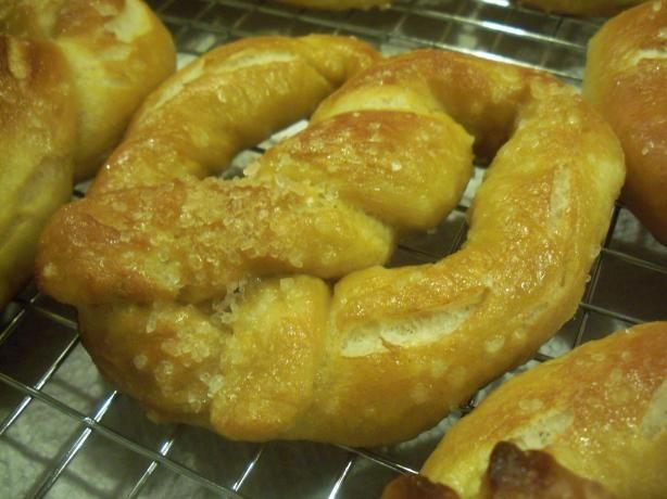Soft Pretzels For Bread Machines Recipe Bread