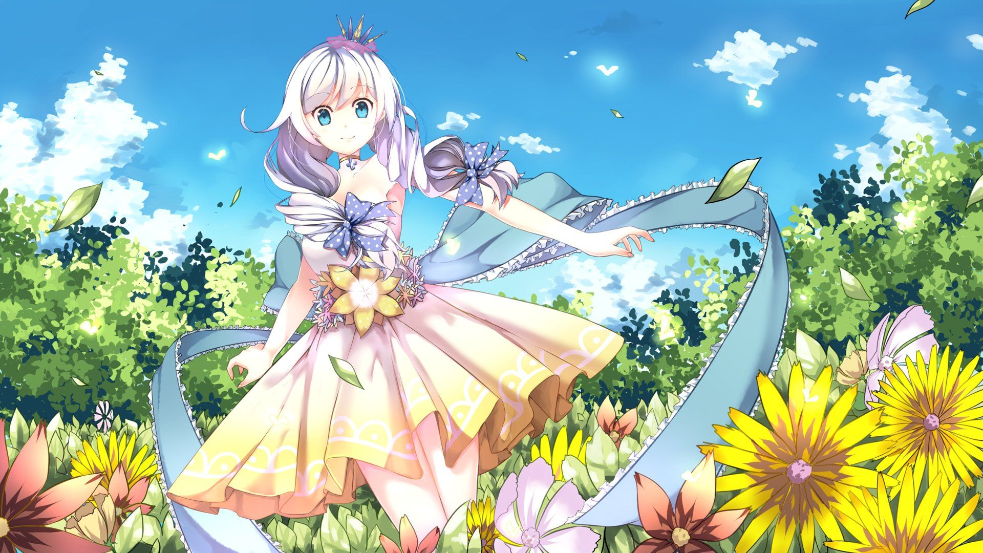 Hình nền anime cute cực dễ thương nhất full HD   アニメの女の子, 可愛いアニメガール,  芸術的アニメ少女