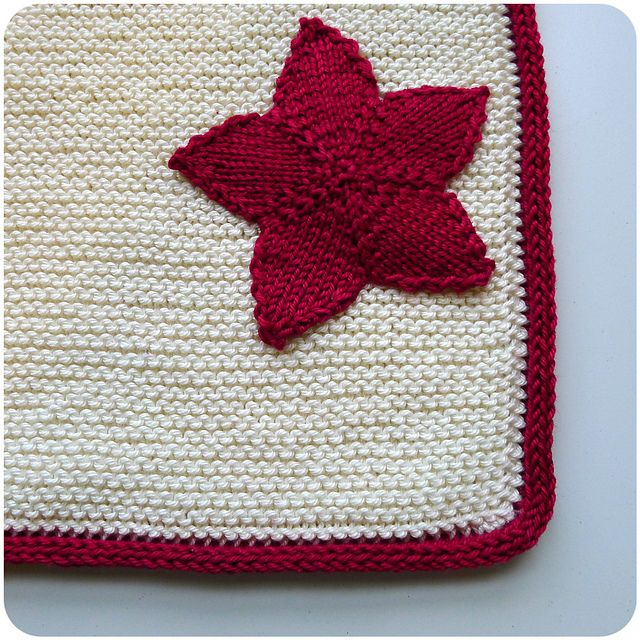 Twinkle, twinkle, little knit stars! These pretty little stars are made in two simple pieces, first in the round, then in rows, and sewn together. The ends, secured and buried within, make just the right amount of stuffing. String them into holiday garlands, tree trimmings, or a soft mobile for a baby's room.