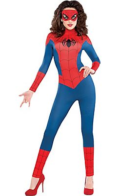 adult sexy spidergirl costume this is sweet - Spider Girl Halloween Costumes