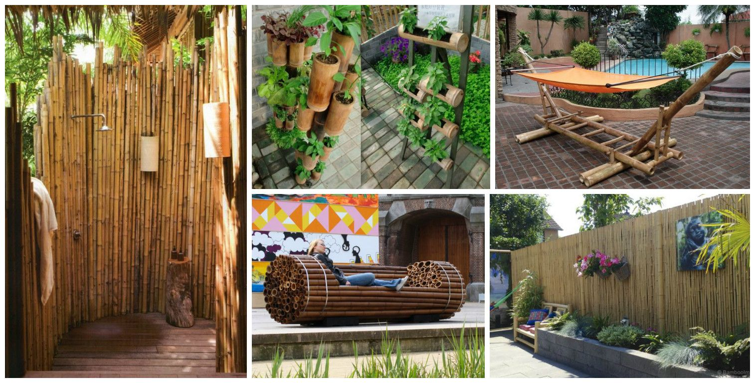 13 Diy Ideas How To Use Bamboo Creatively For Garden Huerta
