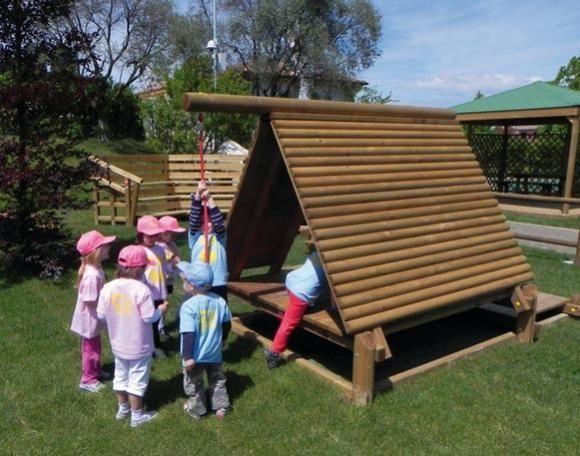 juegos infantiles madera