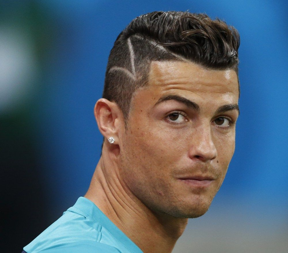 Superb 1000 Images About Cristiano Ronaldo Haircuts On Pinterest Short Hairstyles Gunalazisus