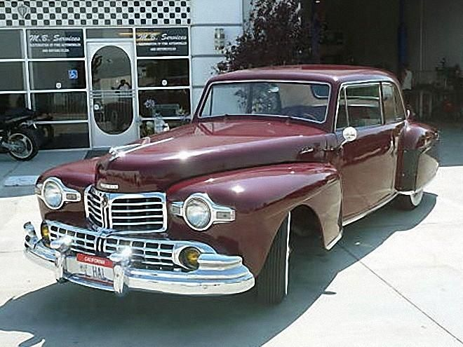 1948 lincoln continental v12 car picture 1940 1949 vehicles a pinterest car pictures. Black Bedroom Furniture Sets. Home Design Ideas
