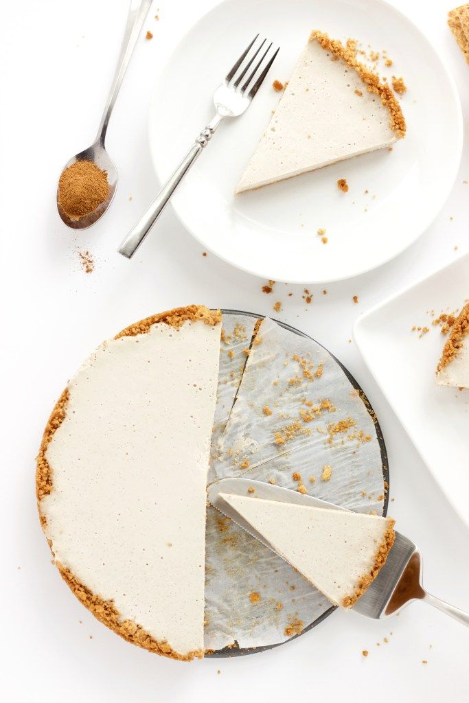 Vegan Churro Cheesecake #churrocheesecake
