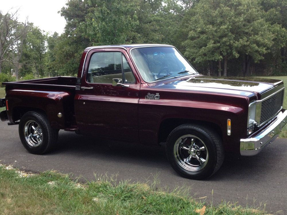 I bought this truck as a one owner when a couple was too old to drive anymore. The truck sat for 3 years before they would part with it. When they decided to, they donated it to a Rescue Mission to sell to support the mission. The original color was a chocolate brown; the