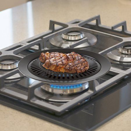 Chef Buddy Smokeless Indoor Stove Top Grill Meal Ideas Pinterest