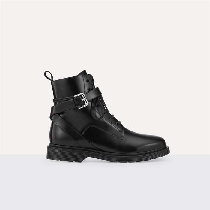 FRANK Boots montantes en cuir
