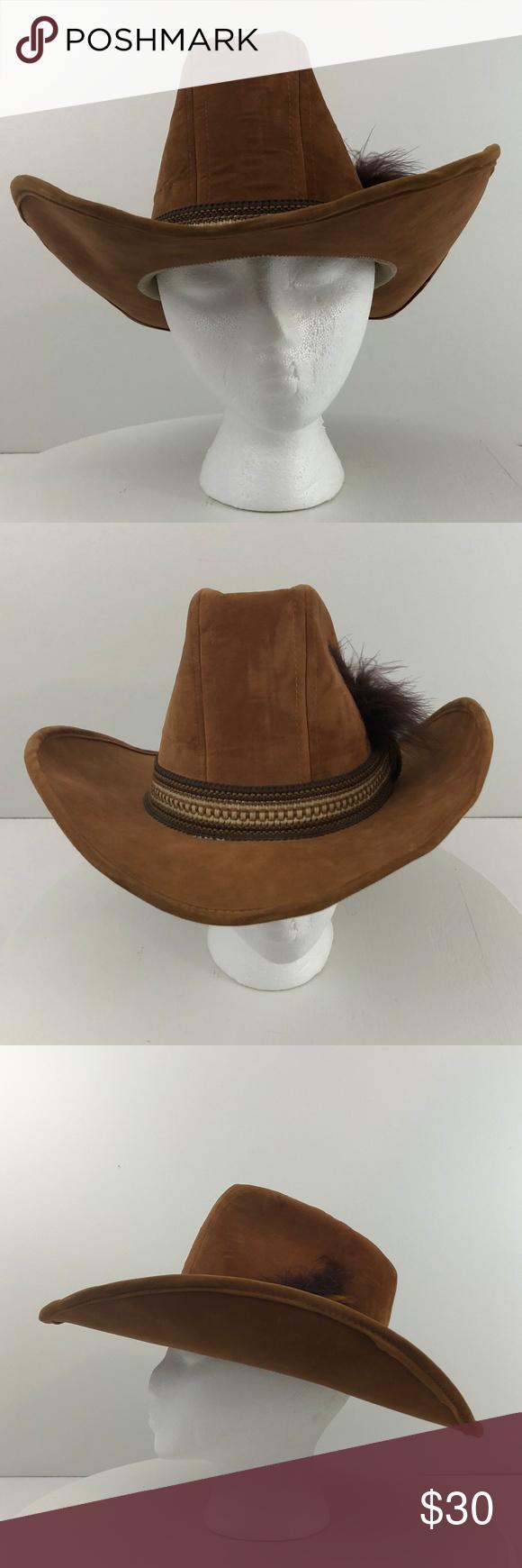 Vintage Union Made Suede Cowboy Hat Vintage United Hatters Cap and  Millinery Union Suede Men Cowboy Hat Size Medium Brand  United Hatters Cap    Millinery ... 78ec076a3450