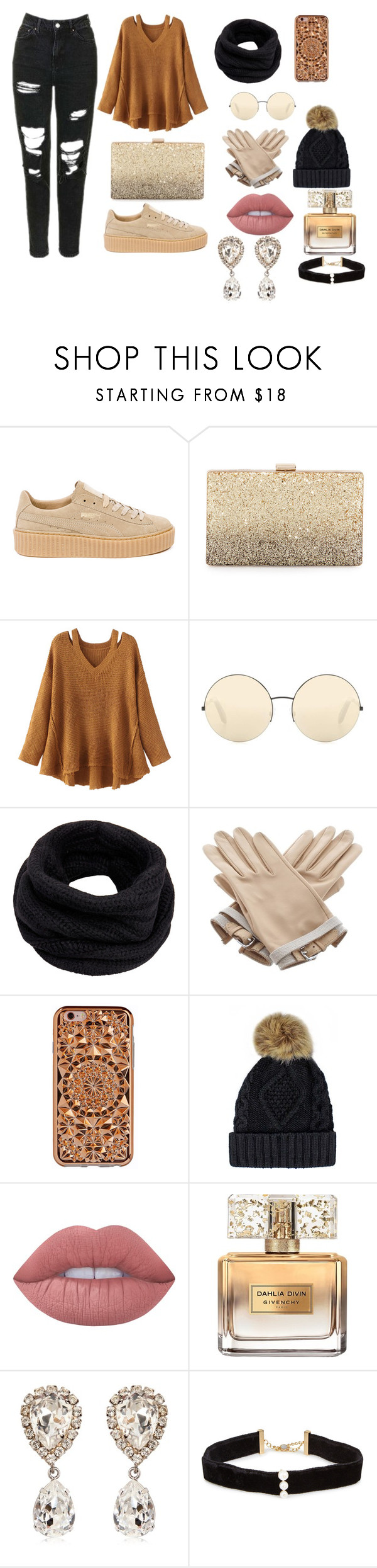 """""""todays outfit"""" by megi-queen ❤ liked on Polyvore featuring Puma, Neiman Marcus, WithChic, Victoria Beckham, Helmut Lang, Hermès, Felony Case, Lime Crime, Givenchy and Dolce&Gabbana"""