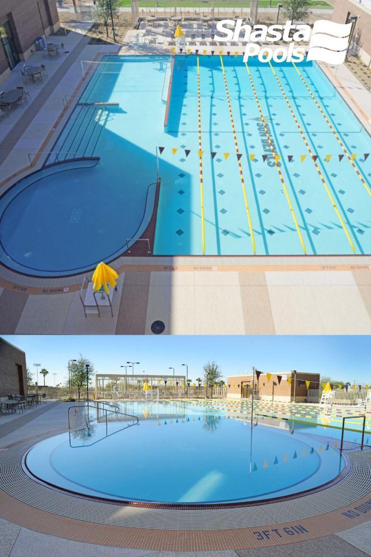 Asu West Campus Pool By Shasta Pools Pool Pool Builders West Campus