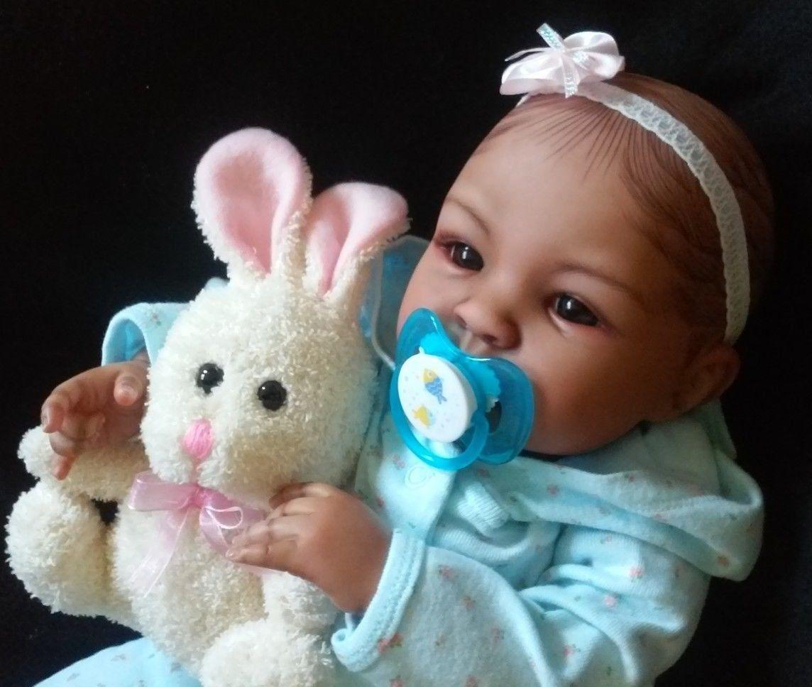 "nice 19"" Beautiful Reborn Baby Girl Shyann   Check more at http://harmonisproduction.com/19-beautiful-reborn-baby-girl-shyann/"