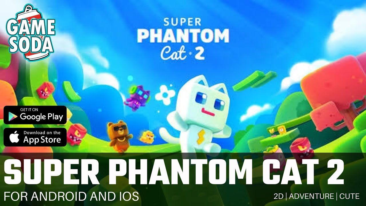 Super Phantom Cat 2 Gameplay For Android And Ios Indie Games Gamesoda Youtube Super Phantom Cat Free Mobile Games Indie Games