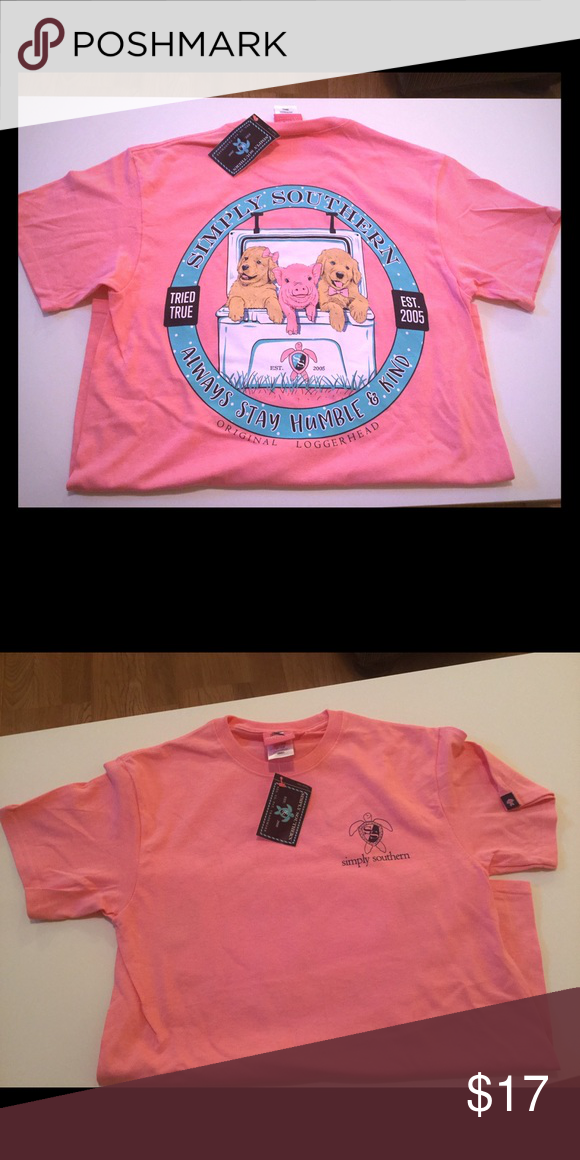 NWT Simply Southern Small New with tags, short sleeve Simply Southern Tops Tees - Short Sleeve