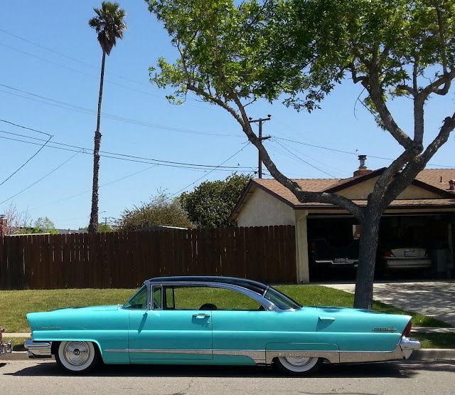 1956 Lincoln Premier – A very restrained design for the times and one of my favo…